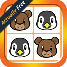 My Kid Animal Matching Cards - Best Brain Training Memory Match Game For Toddlers