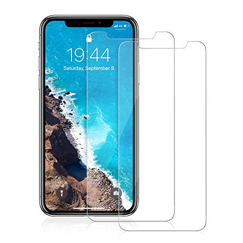 Kadaer Screen Protector for iPhone Xs Max [2-Packs], Premium Tempered Glass Film Cover for 6.5 Inch iPhone