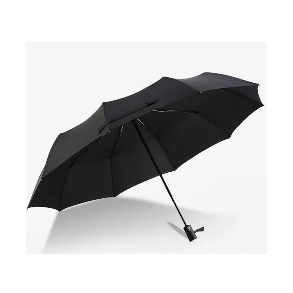 傘、全自動折りたたみ傘、ビジネスクリエイティブ防風抗暴動傘、ユニセックス B07Q3PDRP7