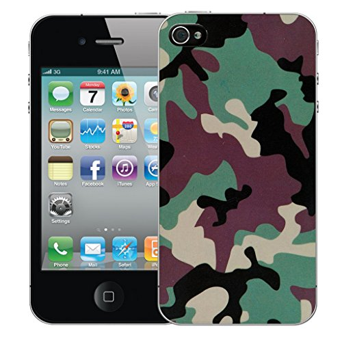 Mobile Case Mate iPhone 5c Silicone Coque couverture case cover Pare-chocs + STYLET - Camoflage pattern (SILICON)