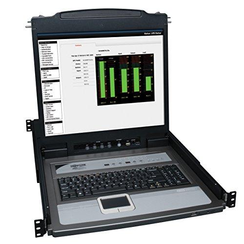 - Tripp Lite B020-U16-19-K 16-Port Console KVM Switch w/ 19