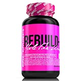 SHREDZ Rebuild-PM Made for Women, 60 Capsules, 30 Day Supply - Muscle Recovery While You Sleep, Sleep Aid, Rejuvenate, REM Sleep