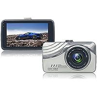 Dash Cam, Car Dashboard Camera 1080P HD 170 Wide Angle G-Sensor Loop Recording 3-Inch