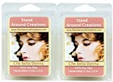 100% All Natural Soy Wax Melt Tarts - Set of 2 - Che Bella Donna: The essence of femininity w/ citrus notes w/ romantic notes of tuberose, carnation similar to Paris by Yves Saint Laurent. - 3oz/ea