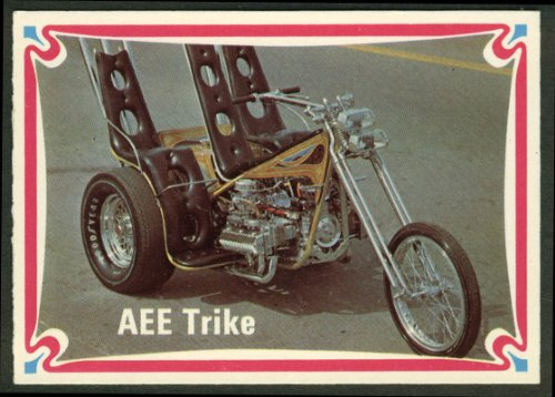 Tom McMullen AEE Trike Corvair-powered motorcycle trading card #52