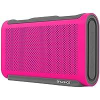 Braven Balance Rugged Waterproof Bluetooth Speaker with Built-in 4000 mAh Power Bank, Pink