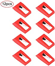 Baring 12pcs Recorder Player Needle, Diamond Stylus Replacement for Turntable, Replacement Needle for Crosley,