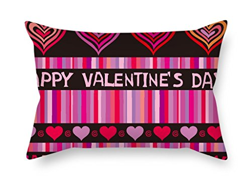 KooNicee Love Throw Pillow Covers 16 X 24 Inches / 40 By 60 Cm Best Choice For Monther Birthday Chair Bench Living Room Kids With Two (Corduroy Diaper Cover)