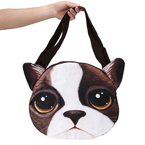Animal Bag - Aircee (TM) Fashion Animal Cat Face Handbag Girl And Women Shoulder Bag (BK-121)