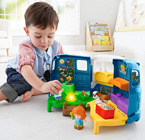 51r 2m4tmGL - Fisher-Price Little People Songs & Sounds Camper