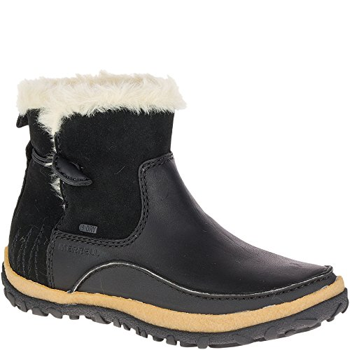Merrell Women's Tremblant Pull on Polar Waterproof Snow Boot, Black, 7.5 M US