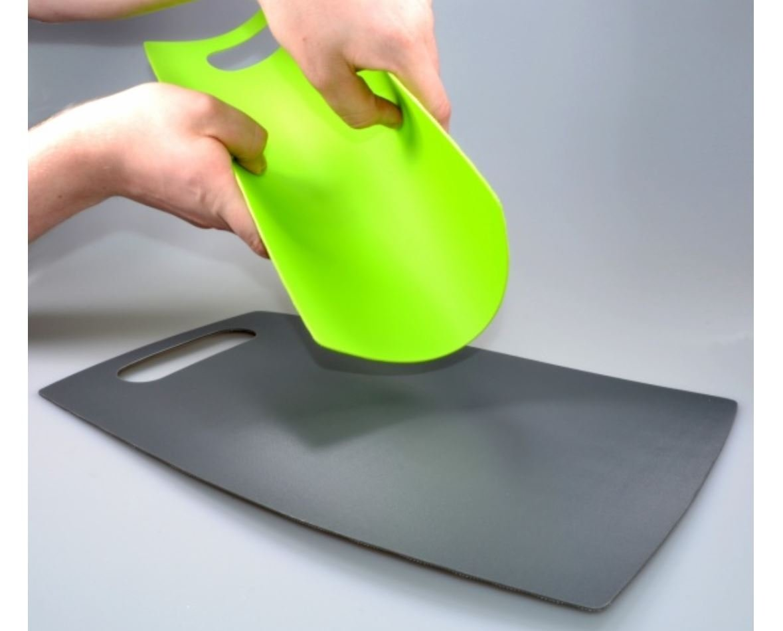 Schneidebrett Küchenbrett Schneidematte Kunststoff flexibel rutschfest 4 Stück