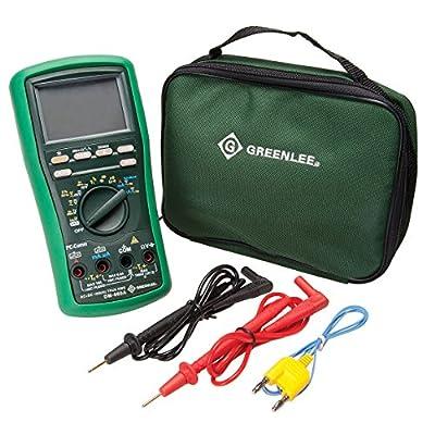 Greenlee DM-860A Industrial 500,000-Count Digital Multimeter