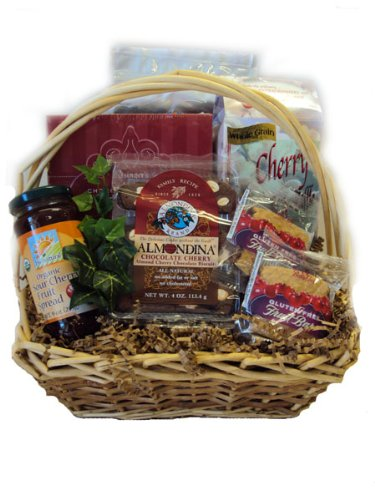 Healthy Anniversary Gift Basket - Amoureux de Cerises by Well Baskets by Well Baskets
