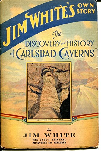james-jim-white-discover-carlsbad-caverns-signed-autograph-booklet