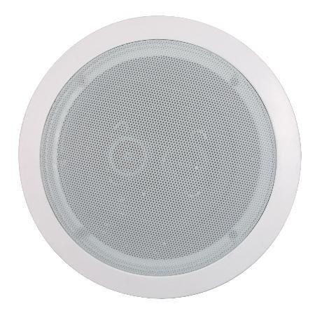 14020 6 1/2'' Single Point Stereo Ceiling Speaker - 50W RMS (Single Stereo Speaker)
