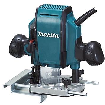 Makita Rp0900j Oberfräse 900 W Schwarz Blau 8 X 210 Mm Amazonde