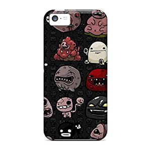 Snap-on The Binding Of Isaac 2 Case Cover Skin Compatible With Iphone 5c