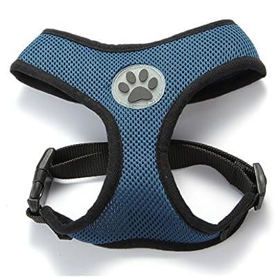 BINGPET BB5001 Soft Mesh Dog Harness Pet Walking Vest Puppy Padded Harnesses Adjustable