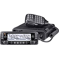 Icom IC-2730A Dual-Band 50W VHF/UHF Mobile HAM Radio with MARS/CAP Mod for Extended Transmit Frequency Ranges
