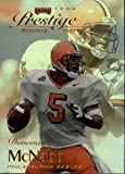 1999 Playoff Contenders SSD Football Rookie Card #163 Donovan McNabb Mint