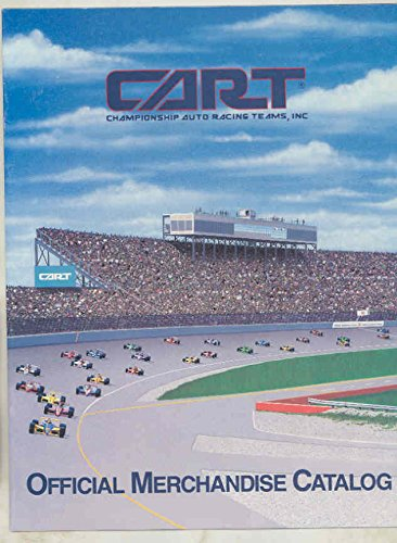 1980s CART Championship Auto Racing Team Official Merchandise Catalog Book from Cart