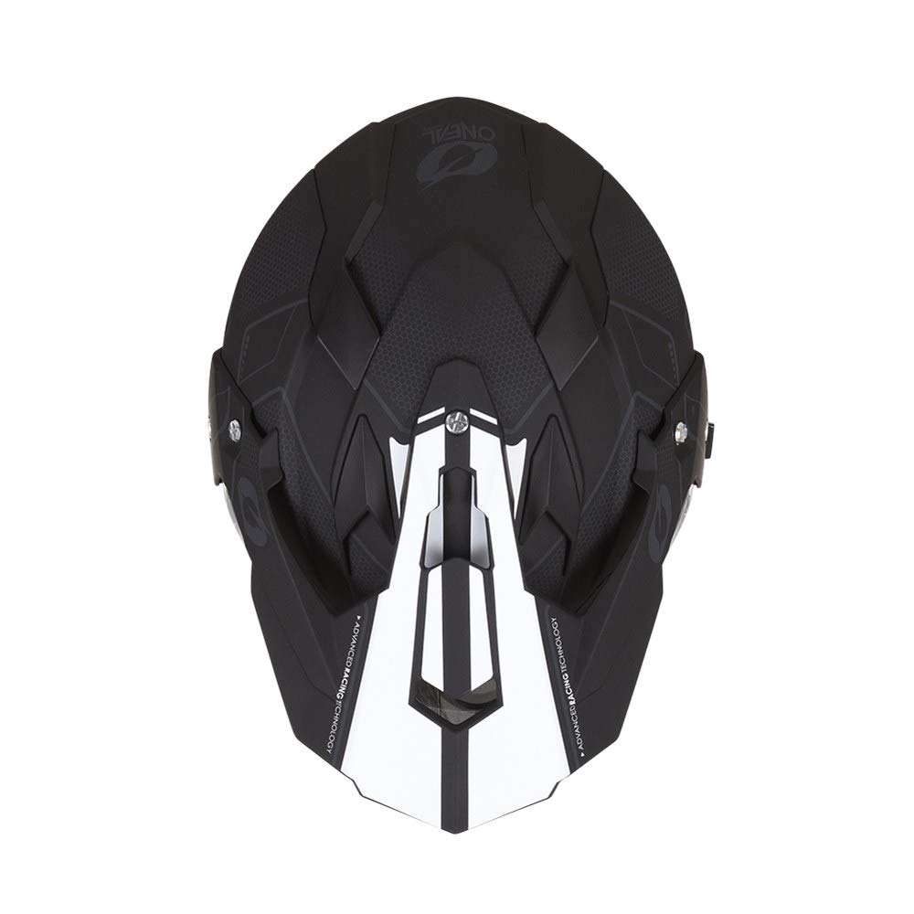 O'Neal Unisex-Adult Off Road SIERRA II Helmet (COMB) Black/White Small by O'Neal (Image #2)