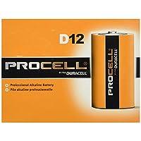 DURACELL Nuevo paquete de tamaño Mega D12 Paquete económico de valor acumulado de 24 cuentas de PROCELL Professional