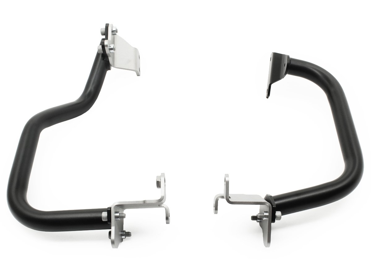 AltRider AT16-2-1010 Lower Crash Bars for the Honda CRF1000L Africa Twin - Black