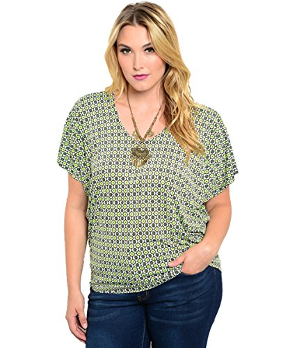 Plus-Size-Lady-Bug-Top