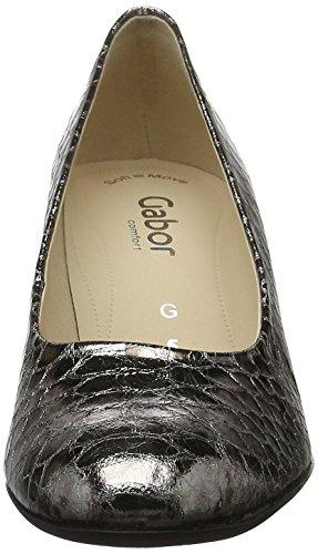 Gabor Shoes Comfort Gris 92 Anthrazit Femme Escarpins BTBr0F