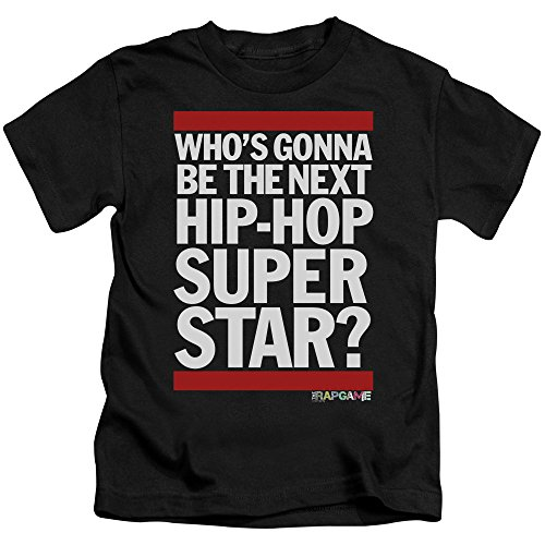 The Rap Game Next Hip Hop Superstar Unisex Youth Juvenile T-Shirt for Girls and Boys by Trevco