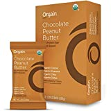 Orgain Simple Organic Protein Bars, Chocolate Peanut Butter, Vegan, Plant Based, Dairy Free, Gluten Free, Soy Free, Lactose Free, Kosher, Non-GMO, Organic Fiber, 2.05 Ounce, 12 Count