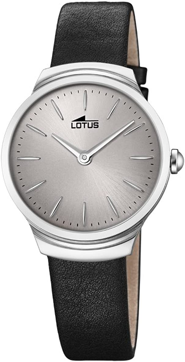 Lotus Watches Reloj Análogo clásico para Mujer de Cuarzo con Correa en Cuero 18500/2