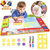 Aqua Magic Mat Kids Toys Large Water Doodle Mat with 4 Colors Water Drawing Mat Painting Educational Gift for Boys Girls Toddlers ( 31.5in X 23.6in )