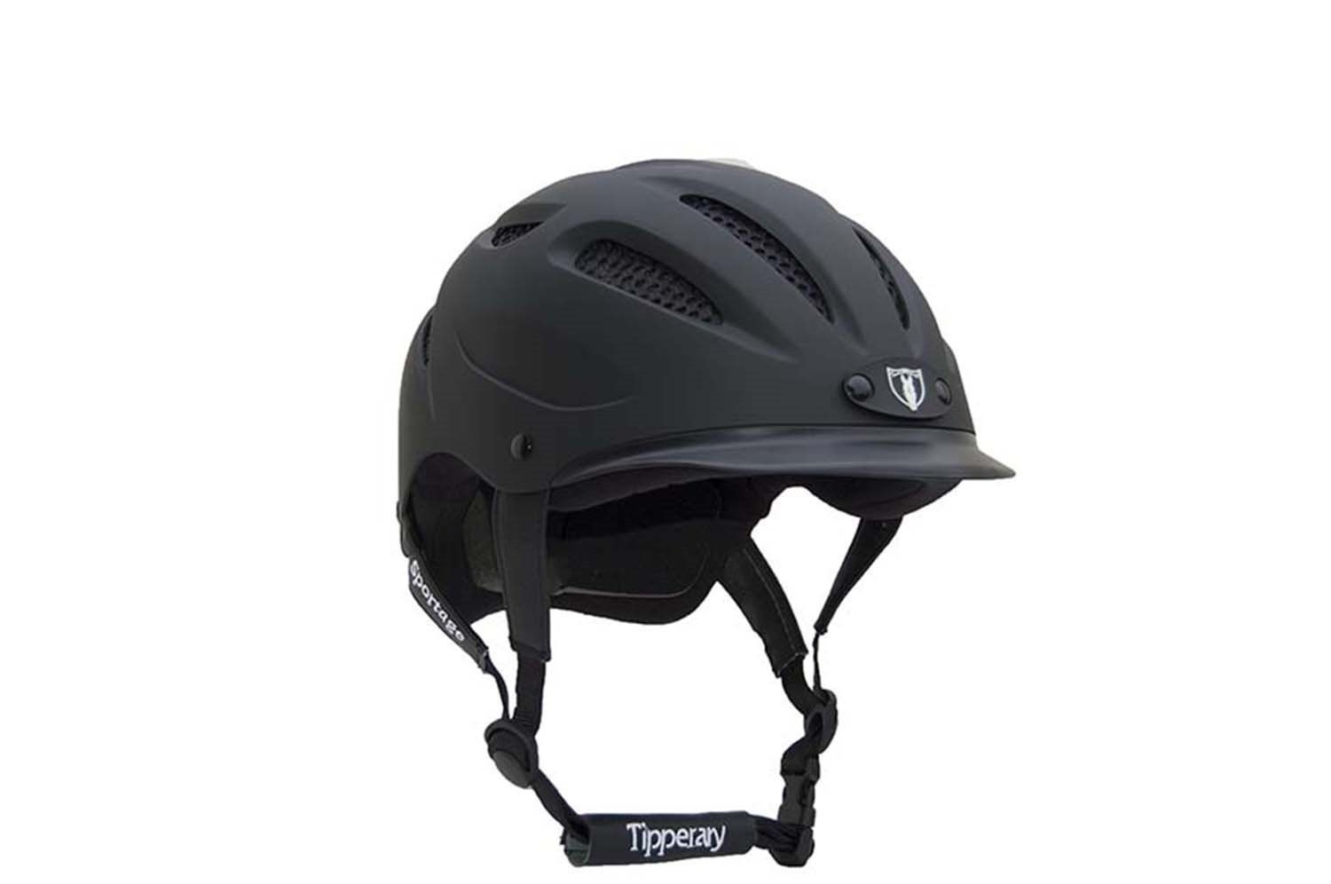 Tipperary Sportage 8500 Riding Helmet Black Small by Tipperary
