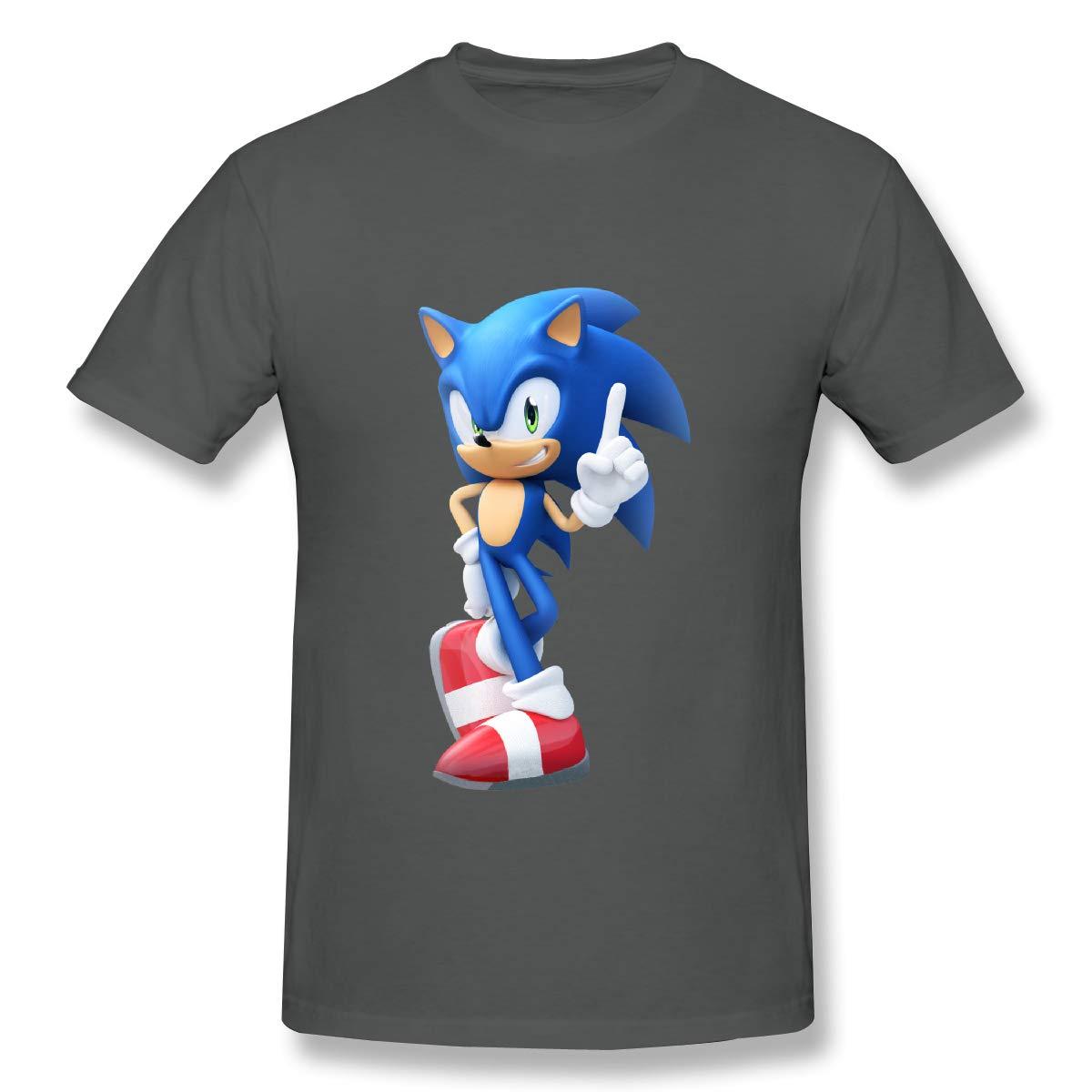 Sonic News Network Fandom Powered ByMens Basic Short Sleeve T-Shirt Archie Qinhuangdao Sonic The Hedgehog