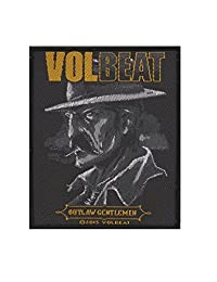 Volbeat Outlaw Gentleman Patch Black