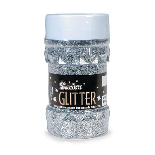 Darice 1146-42 Big Value Glitter, 4-Ounce, -
