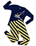 Leveret Crane 2 Piece Pajama Set 100% Cotton 10 Years