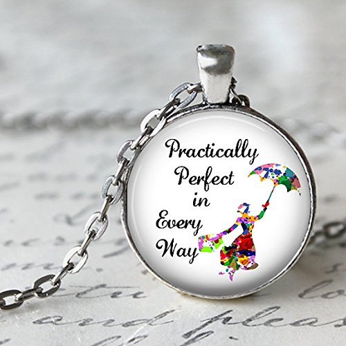 Handmade Necklace,Mary Poppins Perfect in Pendant Necklace for $<!--$3.99-->