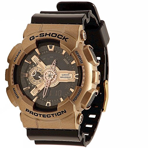 Casio G Shock Black Quartz GA110GD 9B2