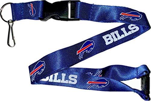 aminco NFL Buffalo Bills Team Lanyard, Blue