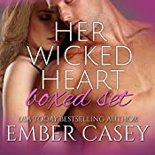 Her Wicked Heart Boxed Set: A Cunningham Family Bundle, Volume 2 | Ember Casey