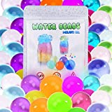 Water Beads, Large Size 5.3oz (158 pcs) Reusable for Orbeez Spa Refill, Sensory Toys,Colorful Décor & Outdoor Play