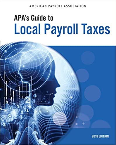 Book APA's Guide to Local Payroll Taxes