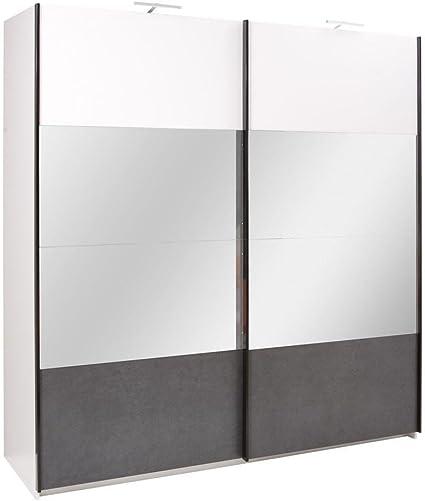 Armadio Ante Scorrevoli 250.Armadio Larghezza 250 Cm Colore Bianco Amazon It Fai Da Te
