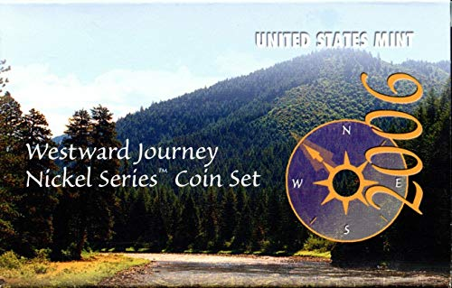 2006 PDS Westward Journey Nickel Series Coin Set in Original Box with COA Nickel Proof and Uncirculated US Mint