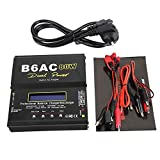 B6AC 80W Balance Charger Discharger LCD Display Digital Battery Pack Charger for Li-ion