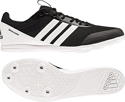 adidas Distancestar, Zapatillas de Atletismo Para Hombre, Negro (Negbás/Ftwbla/Ftwbla 000), 48 EU